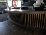 20' Wood Top Bar with Loqouir Rail