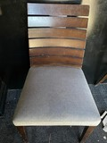 Wood and Upholstered Chairs