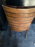 Wood and Upholstered Bar Stools
