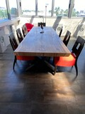 Large 10Ft Dining Table made from a single Tree