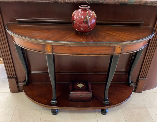 """56"""" Wood Console Table"""