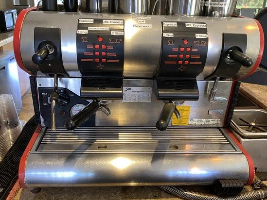 LA SAN MARCO SPRINT-E ESPRESSO COFFEE MACHINE MODEL 95-SPRINT-E