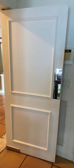 """32""""W x 80""""H Swinging Wood Kitchen Door"""