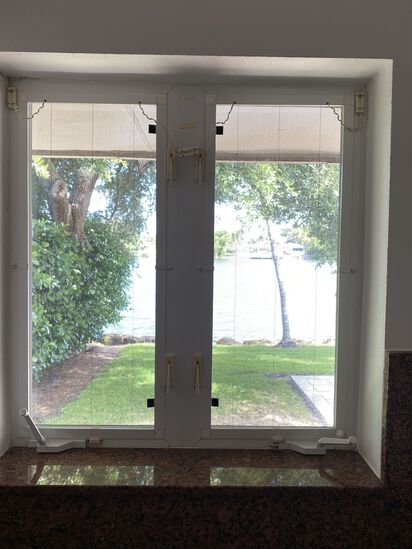 """35""""W x 36""""H Double Window with Crank Open and Close"""