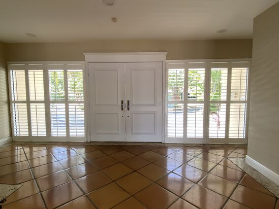 """78"""" x 78"""" Classic Faux Wood Shutter System"""