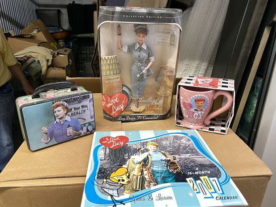"""Lot of (5) 'I Love Lucy"""" Collectables"""