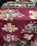 6'x 8' Floral Tapestry Hand Woven Rug