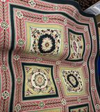 4' x 6' Hand Crafted Elegant Designed Floral Rug