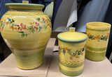 (3) Piece Decorative Jar Set purchased at barney's in Newyork.