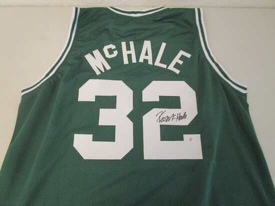 Kevin McHale of the Boston Celtics signed autographed basketball jersey PAAS COA 873