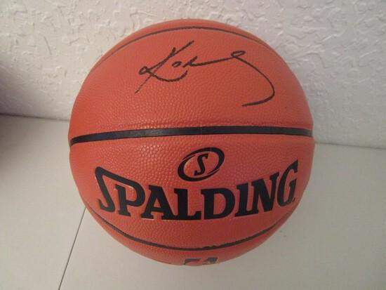 Kobe Bryant of the LA Lakers signed autographed full size basketball ERA COA 002
