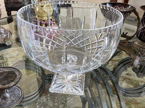 """12"""" Cut Crystal Bowl"""