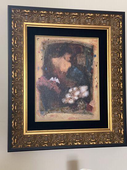 """32""""H x 29""""W Gold Framed Wall Art"""