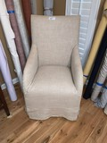 (6) Upholstered Dining Room Chairs, (2) Arm Chairs, (4) Side Chairs