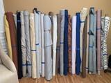 (28) Bolts of Assorted Fabrics
