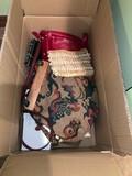 Box Full of Ladies Handbags