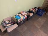 Lot, (6) Full Boxes of Books