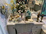 Contents of the Dressing Table AND Upholstered Chair