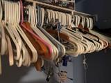 Large Lot of Plastic Hangers