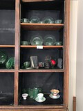 Contents of Assorted Glassware on (4) Shelves