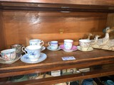 Shelf Lot, Cups and Saucers