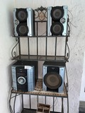 Sony Boom Box with (3) Detached Speakers