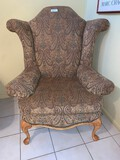 Large Oversized Wing Back Chair