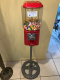 Functional Gum Ball Machine on Stand