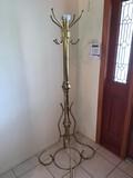 Tall Brass Coat rack