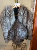 Fox Jacket with Matching Muff