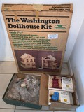 New Boxed Dollhouse with (2) Boxes of Accessories to House