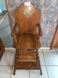 Vintage Baby High Chair,