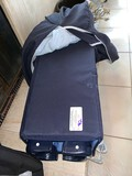 Lot, Baby Play Pen in Soft Case and Changing Table