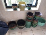 (10) Assorted Vases