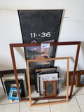 Assorted Lot of Picture frames
