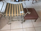 Lot, Bench and Stool
