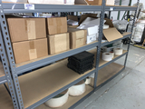 Contents of (3) Sections of Slotted Angle Shelving