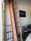 16Ft Aluminum Extension Ladder