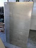 Aluminum Diamond Plate Dock Plate