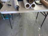 (2) Fibreglass 4'Folding Tables