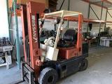 Nissan #50 Enduro Forklift, 3 Stage, 5,000 Lb Cap