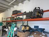 (3) Sections of Interlake Pallet Rack: 10Ft Frames
