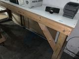 7 Ft Shop Table