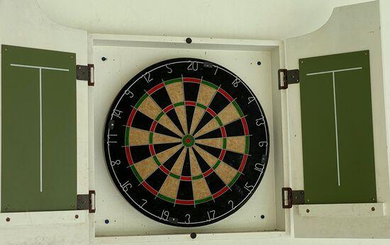 Dartboard And Enclosure