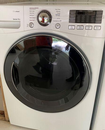 LG Truesteam Sensor Dry Front Loading Dryer