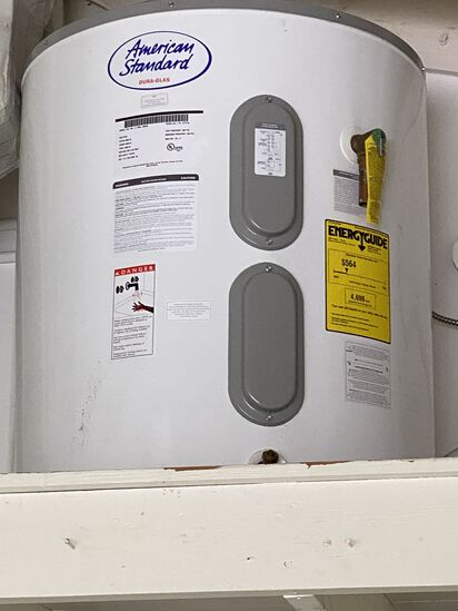 American Standard 50 Gallon Hot Water Heater. Just Purchased. Relatively New