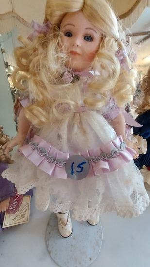 "14"" Kimberly Porcelain Doll"