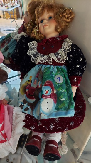 """16"""" Porcelain Doll Winter Edition"""