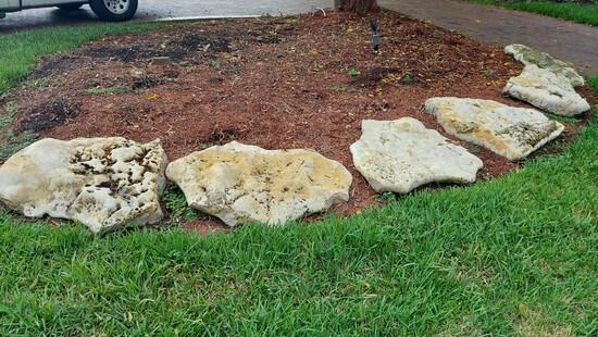 Large Decorative Exterior Rocks