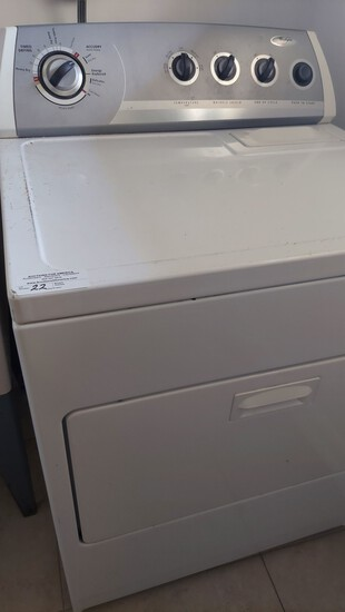 Whirlpool Front Loading Dryer